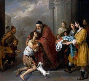 Pintura del hijo pródigo