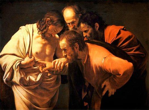 Santo Tomás y Jesús
