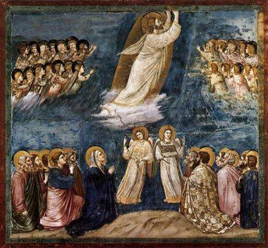 Ascensión del señor a los cielos
