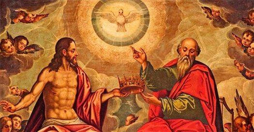 Pintura de la Santísima Trinidad