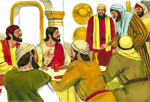 Comida con fariseos