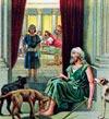 Las llagas de Lázaro lamidas por los perros