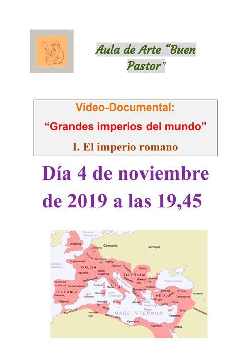 Vídeo documental sobre el imperio romano