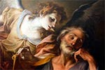 El ángel le habla con José