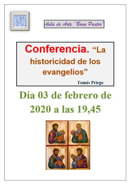 Conferencia La historicidad de los evangelios